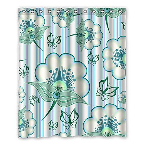 """152 cm x183 cm (60 """"x72"""") Bagno Doccia Tenda, universale personalizzati muffa tenda di acquazzone impermeabile Patterns"""