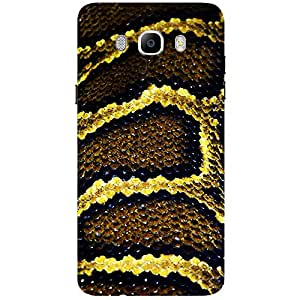 Snake - Mobile Back Case Cover For Samsung Galaxy J5 (2016)