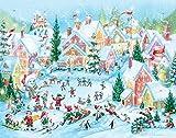 Elfen Dorf Adventskalender