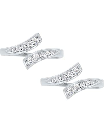 f66576f99e85f Toe Rings: Buy Toe Rings Online at Best Prices in India-Amazon.in