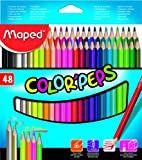#10: ColorPeps set of 48 pencils MAPED