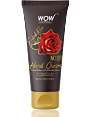 WOW English Rose Gentle Hand Cream - No Parabens, Silicones, Mineral Oil, Color & PG - 40mL