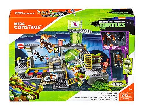 Image of Mega Bloks Teenage Mutant Ninja Turtles Sewer Lair Building Set