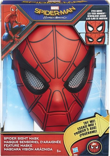 Hasbro Spider-Man B9695EU4 - Feature Maske, Verkleidung (Spiderman Kostüm Machen)