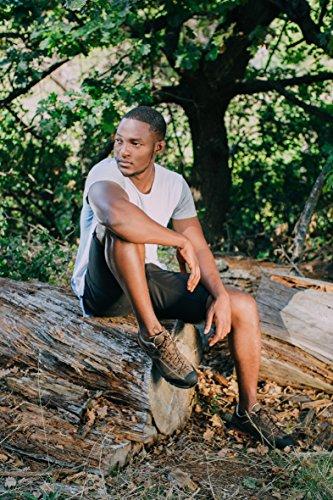 Guggen Mountain Uomo Scarpe Da Trekking Scarpe Da Camminata Vagabondaggio Scarpe Basse Scarpe Impermeabili Scarpe Da Passeggio Hpt53 Marrone