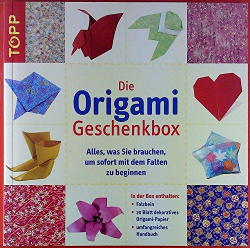 Origami-Geschenkbox Anleitungsbuch inklusive Grundanleitung und 22 Modellen