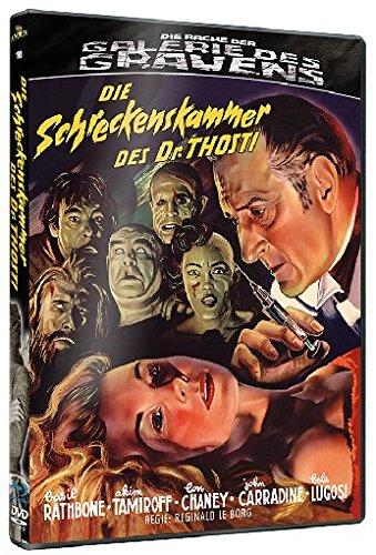 Die Schreckenskammer des Dr. Thosti - Die Rache der Galerie des Grauens 10 (+ DVD) [Blu-ray] [Limited Edition]