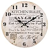Kitchen Rules Uhr, 34 cm