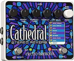 Electro Harmonix Cathedral Pédale pour Guitare électrique Argent