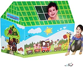 Negi Kids House Tent, Playhouse - Fun Cottage for Indoor Or Outdoor Activity