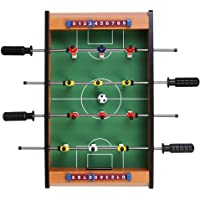 OWLMART®Mid-Sized Foosball, Mini Football, Table Soccer Game, 4 Rods, 20 Inches (50 Cms) - Lets Have Fun!
