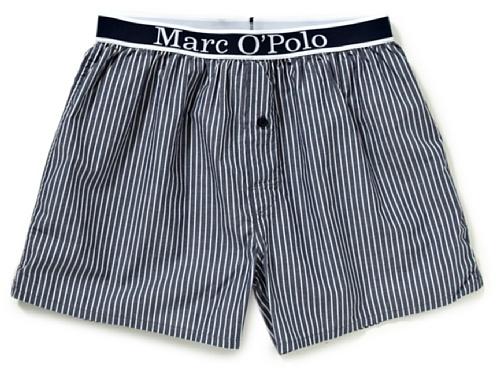 Marc O' Polo Bodywear Herren Schlafanzugshose, gestreift 870875, Gr. 54 (XL), Blau (5683)