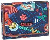 Oilily S Wallet OES1215-5003 Mädchen Portemonnaies, Blau (Blau/Pink/Rot), 12,5x10,5x3,5 cm (B x H x T)