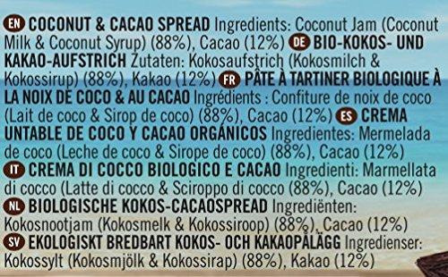 Coconut Merchant Natürliche Kokosnuss-Creme 330g (Kokosnuss- und Kakao-Konfitüre) - 5