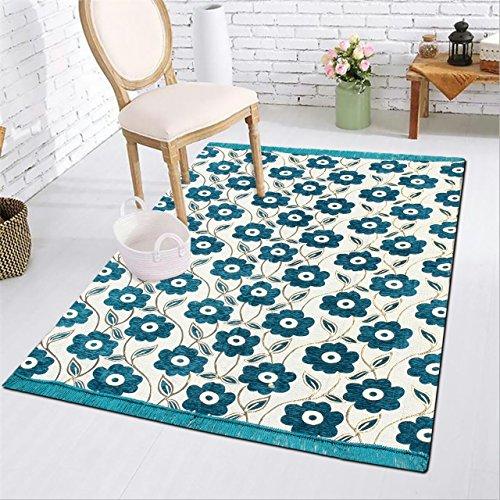 Generic Designer Stylish Abstract Chenille Heavy Quality Carpet 7 Feet (Length) X...