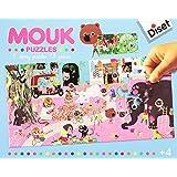 Diset - 41024 - Mouk Story Puzzle - 2 X 28 Pièces