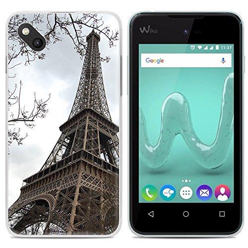 Easbuy Handy Hülle Soft Silikon Case Etui Tasche für WIKO Sunny (B-Kool) / Wiko Sunset 2 Smartphone Cover Handytasche Handyhülle Schutzhülle