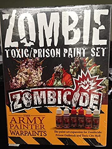 The Army Painter: Zombicide Toxic/Prison Paint Set by The