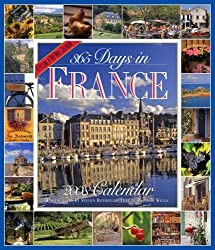 365 Days in France Calendar 2008 (Picture-A-Day Wall Calendars) by Patricia Wells (2007-07-01)