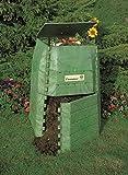 Hochwertiger Thermokomposter aus dickwandigem Kunststoff für Küchen- und Gartenabfälle - Umweltschutzpreis Gewinner - Made in Austria