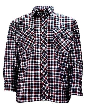 Mens Lumberjack Work Shirts Small Check M