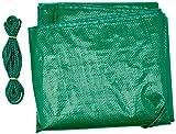 KV VK Unisex Copertura protettiva per bici, Verde (grün), letto doppio