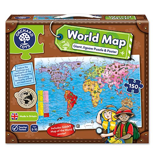 Orchard Toys World Map Jigsaw Pu...