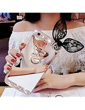 Sycode Galaxy A3 2016 Spiegel Hülle,Galaxy A3 2016 Mirror Handyhülle,Galaxy A3 2016 Diamant Schutzhülle,Glänzend...