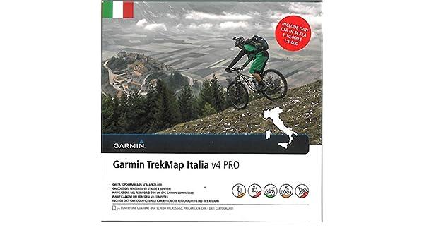 Neuf trekmap Italia V4 Pro Italie Carte MicroSD Vecteur 2016