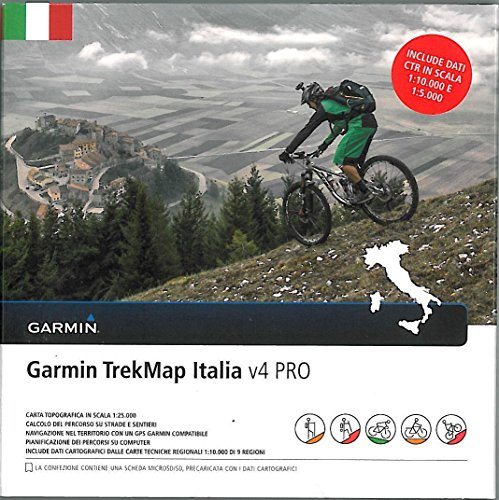 4 Pro italien microSD Vektorkarte 2016 topo ()