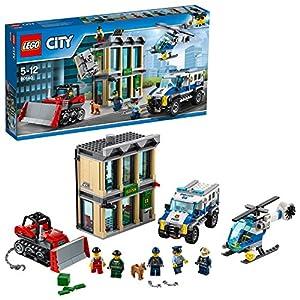 LEGO City 60140 - Set Costruzioni Rapina con Il Bulldozer 5702015865647 LEGO