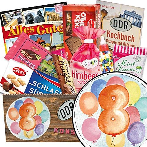 Achter Hochzeitstag Geschenk | Süße DDR Produkte | Geschenke zum 8 Jährigen