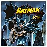 Batman 2019 - DC Comics Calendrier mural pour homme et garçon 30 x 30 cm
