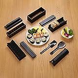 Sushi Maker Kit DIY10 pièces sushi boules de riz meurent (Noir)