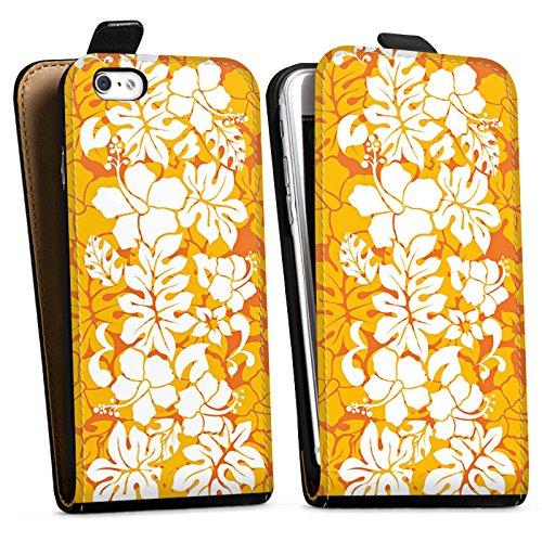 Apple iPhone X Silikon Hülle Case Schutzhülle Ornament Muster Flower Downflip Tasche schwarz