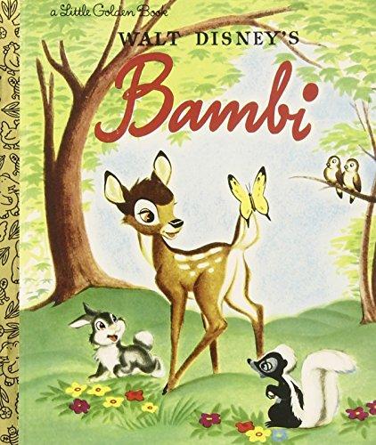 Bambi (Disney Bambi) (Little Golden Books (Random House)) por Random House Disney