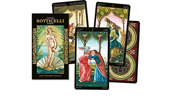 Lo Scarabeo - Karten: Goldenes Botticelli Tarot Verkaufskarton ...