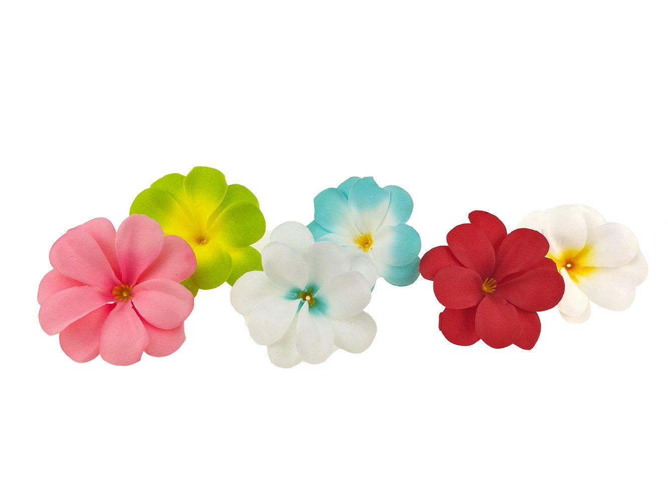 Paquete de 50 flores artificiales de seda para decoración de bodas, guirnaldas, accesorios de joyería