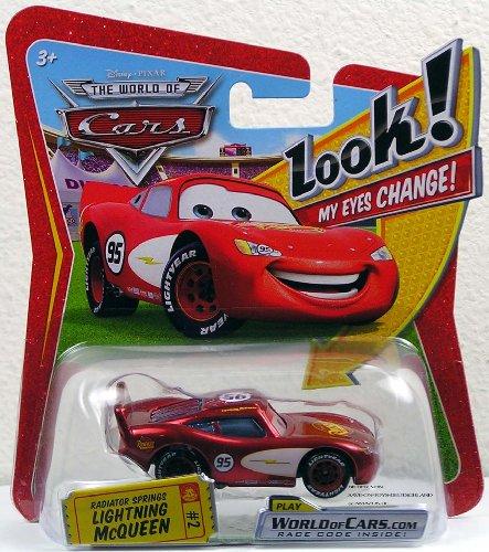 Mattel P7003 - Disney Pixar CARS, Radiator Springs Lightning McQueen #2 - mit online code