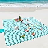 Best Blanket Picnic Blankets - WolfWise 200x200 cm Waterproof Picnic Blanket Beach Rug Review