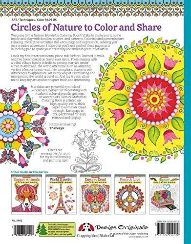 Nature Mandalas Coloring Book (Coloring is Fun)
