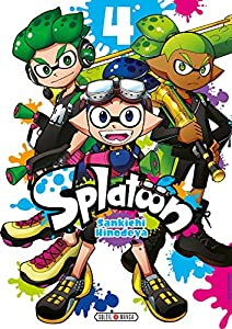 Splatoon Edition simple Tome 4