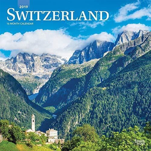 SWITZERLAND Schweizerland 2019 Kalendarwand-quadratisch, 30 x 30 cm, versiegelt, inkl. gratis ab 1. Nov.