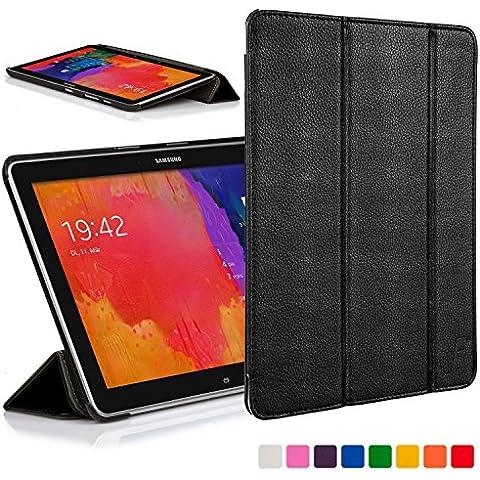 Forefront Cases® Samsung Galaxy Tab PRO 12.2 SM-T900 Funda Carcasa Stand Smart Case Cover Protectora Plegable de Cuero – Función automática inteligente de Suspensión/Encendido