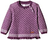 NAME IT Mädchen Pullover Whoopi Wool Mini Knit Top Girl 315, Gr. 98, Mehrfarbig (Deep Purple)