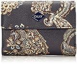 Oilily Damen Jolly Purse Mh10f Geldbörse, Blau (Dark Blue), 1x10x14 cm