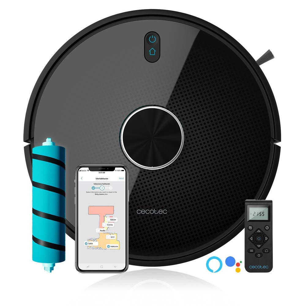 Cecotec Conga 4090 Saugroboter Wischroboter, mit App, Alexa und Google Home