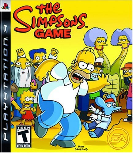 The Simpsons Game PS3 (Simpsons Ps3 Game)