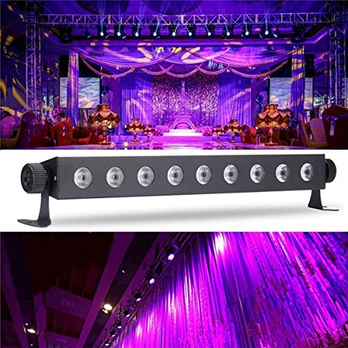 JINHUGU 9x3 w uv LED bar licht Blacklight dj Club Party Halloween wanddekor Lampe ac100-240v UK