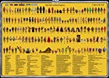 Import Posters Star Wars Vintage Action Figure Checklist - Wall Poster Print - 30CM X 43CM Droids Ewoks